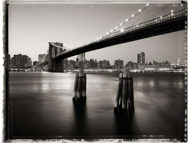 Christopher Thomas, 'Brooklyn Bridge IV', 2009, Print, Pigment Print on Arches Aquarelle paper, Galerie Commeter / Persiehl & Heine