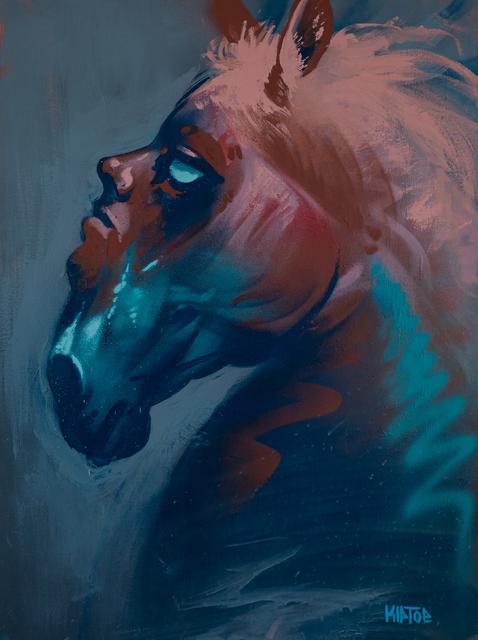 , 'Horse Head,' 2019, EWKUKS