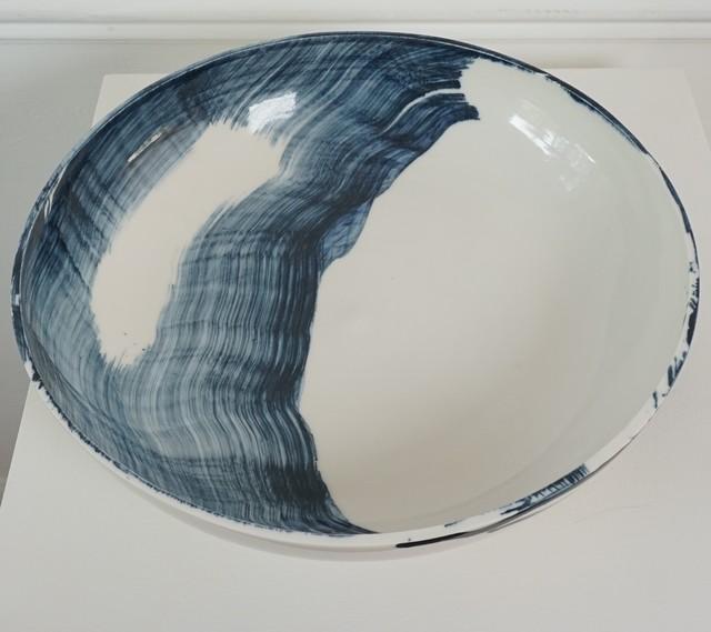 , 'Porcelain plate,' 2018, Henry Saywell