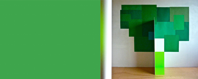 , 'Totem vert,' 2012, Galerie Graff