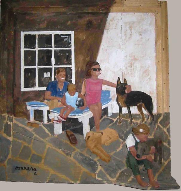 , 'Escena Familiar,' , MAMAN Fine Art Gallery