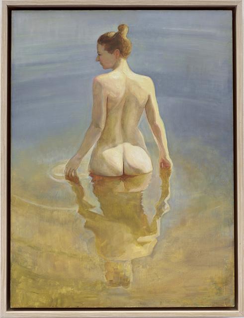 David Molesky, 'Still Pond', 2018, Painting, Oil on wood Panel, Andra Norris Gallery