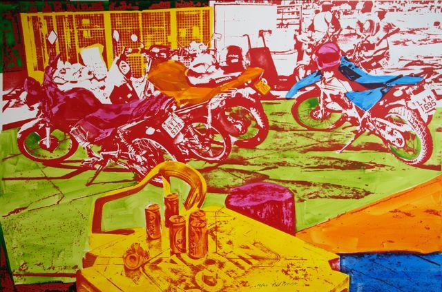, 'Moto Side,' 2014, Fils Fine Arts
