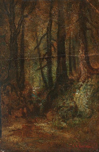 , 'Woodland Stream,' , Questroyal Fine Art