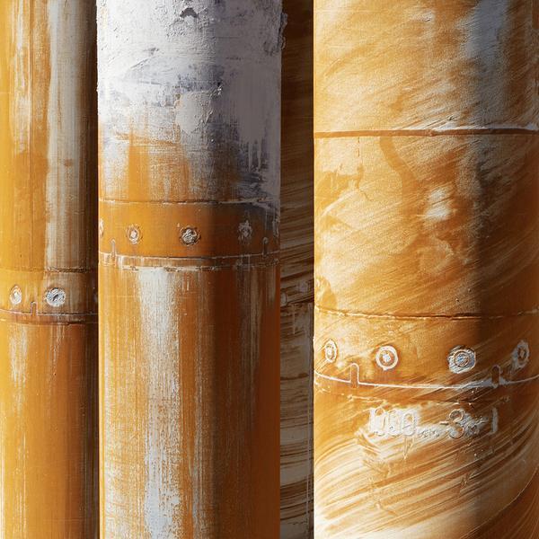 , 'Piling Drill Casings,' 2018, Bau-Xi Gallery
