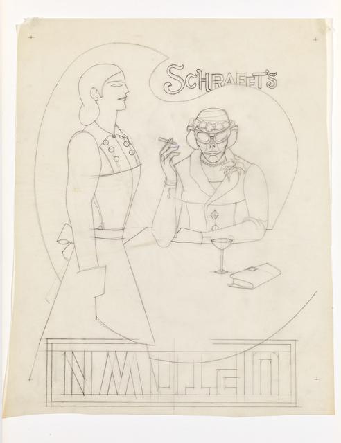, 'Schrafft`s,' 1969, Levy