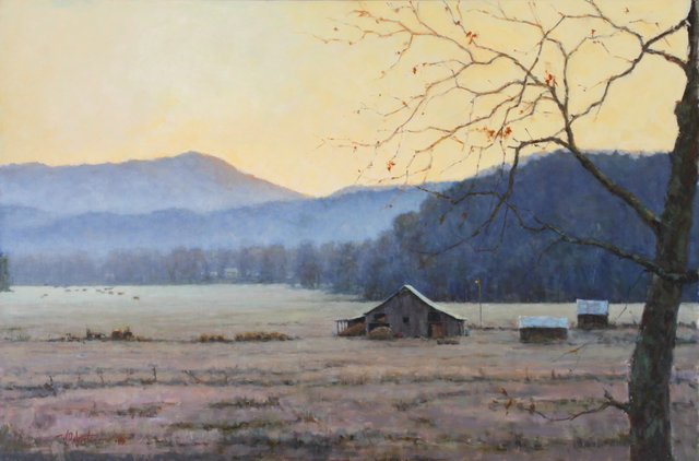 , 'Early on a Frosty Morning,' , Beverly McNeil Gallery