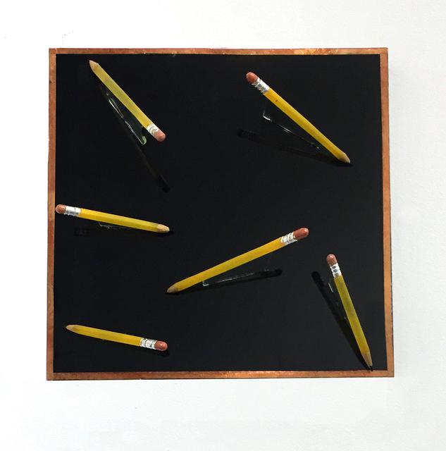, 'Pencils on Black,' , Lois Lambert Gallery