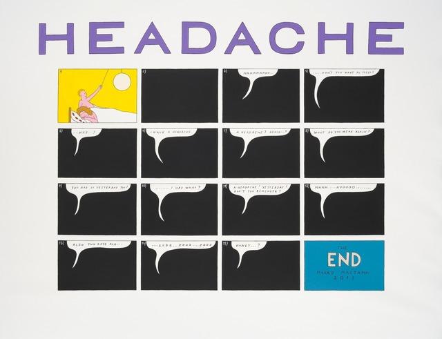 , 'Headache,' 2013, Temnikova & Kasela