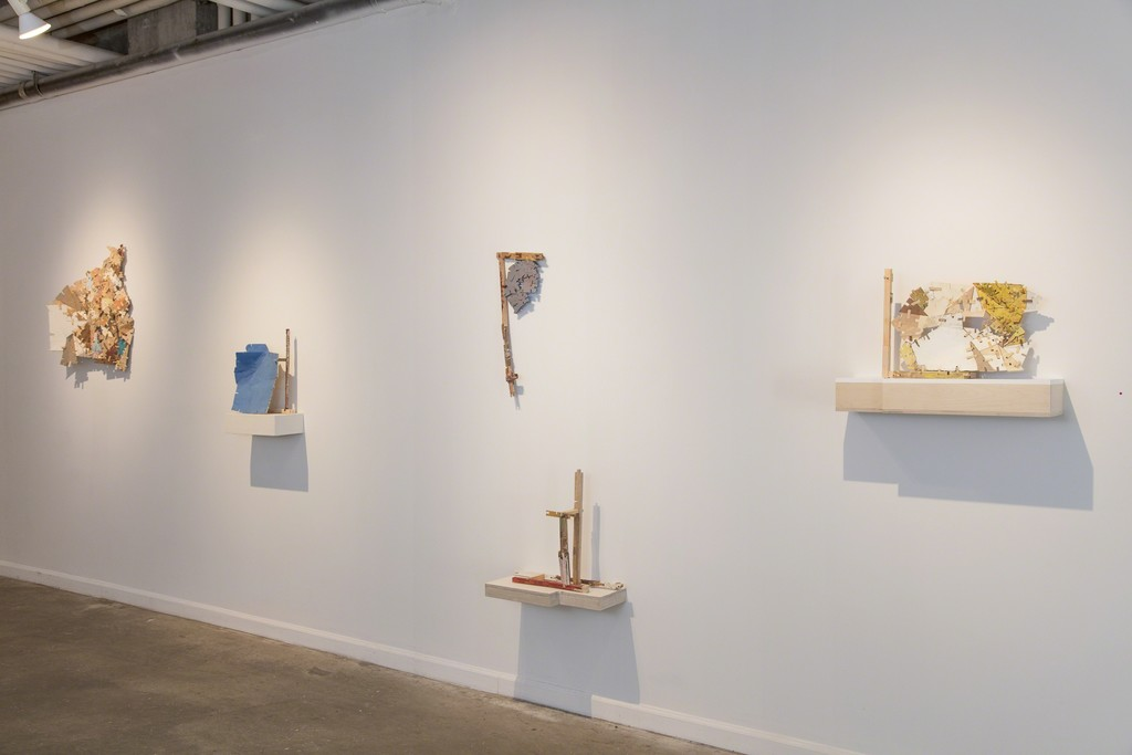 "Helen O'Leary: ""Home is a Foreign country"" (installation view, Lesley Heller Gallery, NY), 2018"