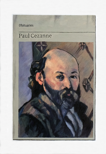 , 'Obituary: Paul Cézanne,' 2018, Charlie Smith London
