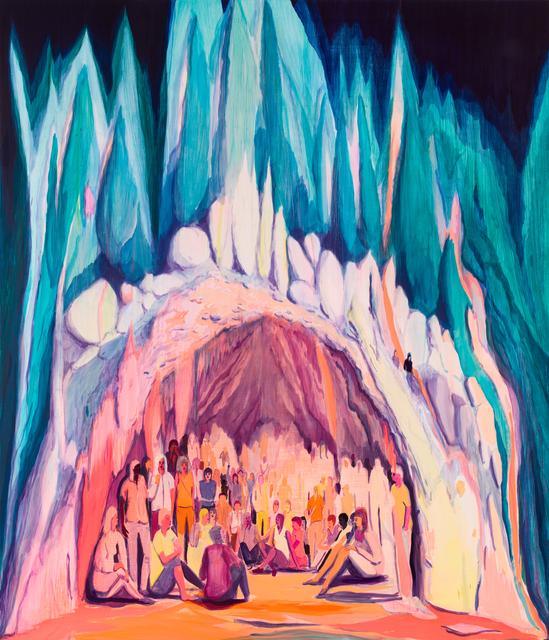 Jules de Balincourt, 'Cave Country', 2017, Victoria Miro