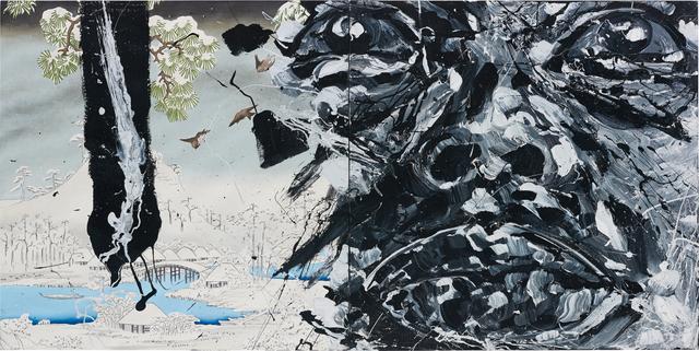 Roberto Coda Zabetta, 'Untitled', 2007, Painting, Oil on canvas, diptych, Phillips