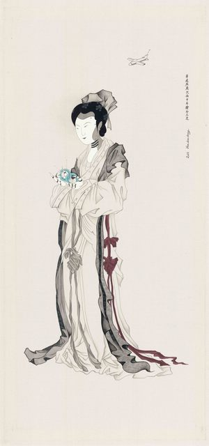 Chien-Chiang Hua, 'Robot Girl No.3', 2016, Aki Gallery