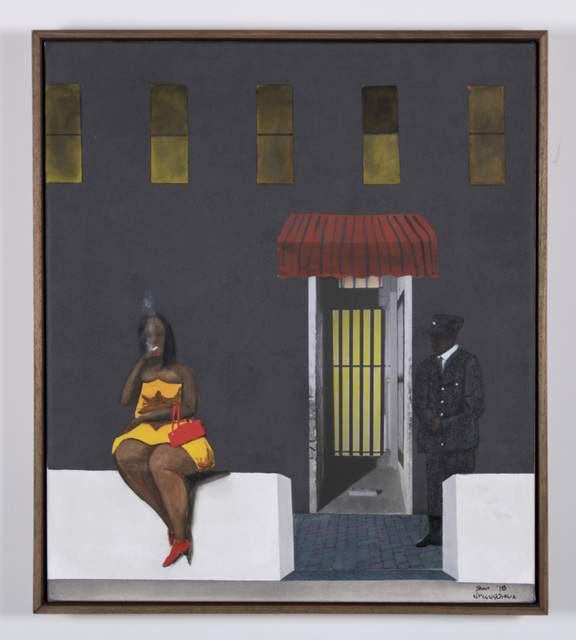 , 'They are waiting,' 2018, Goodman Gallery