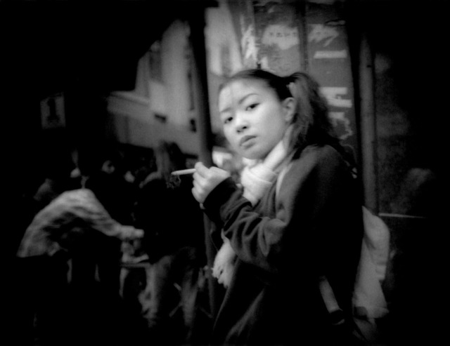 , 'Pony tails, piercing glance and a cigarette, Shibuya,Tokyo, Japan,' 1998, Sous Les Etoiles Gallery