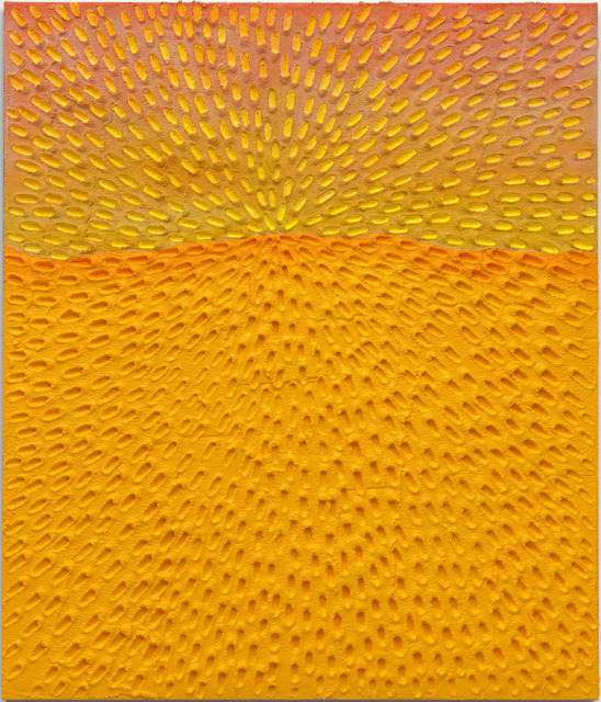 , 'New Horizon (Painted White Sand SF #3C, Light Yellow and Pink Sky),' , Gagosian