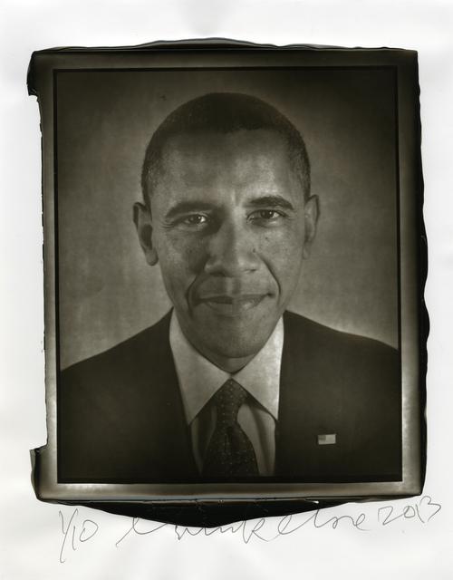 , 'Obama,' 2013, Two Palms