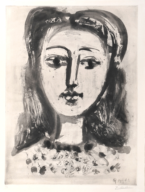 , 'Portrait de Françoise aux Cheveux Flous. Portrait of Françoise with Flowing Hair,' 1947, William Weston Gallery Ltd.