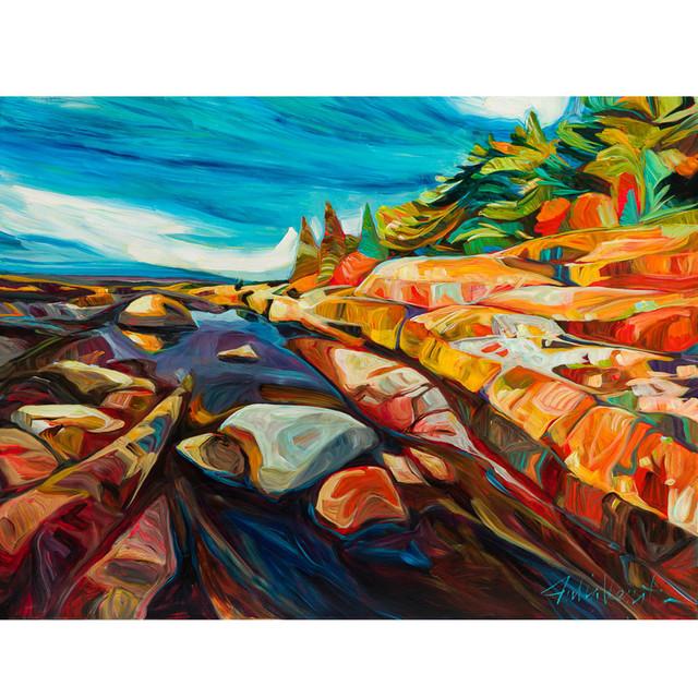, 'Sun Bleached Shore ,' 2018, Petroff Gallery