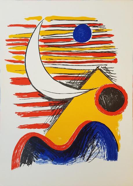 Alexander Calder, 'La Lune et la Montagne Jaune', 1960, Galerie d'Orsay