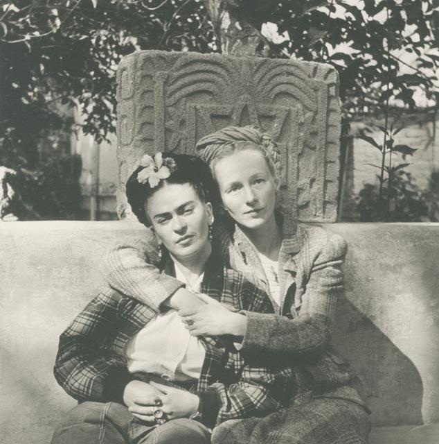 Diego Rivera, 'Frida And Emmy Lou Packard, Coyoacán, Mexico', 1941, Matthew Liu Fine Arts