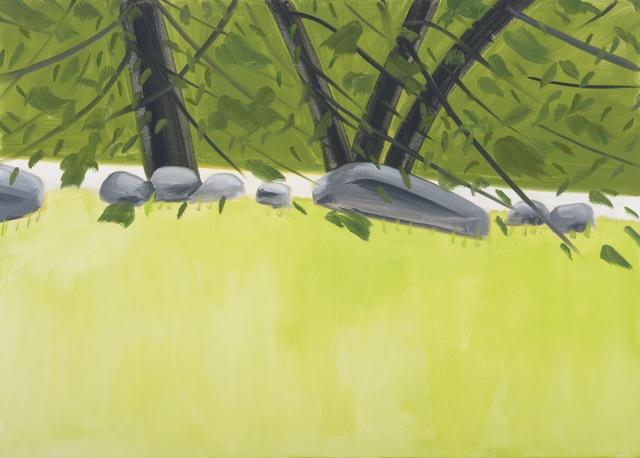 , 'Four Trees 2,' 2015, Galerie Thaddaeus Ropac