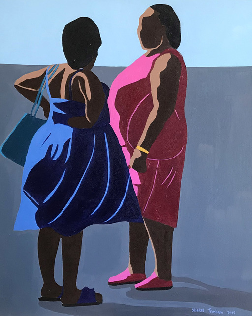 Shakes Tembani, '2 Ladies going out', 2019, Opulent Living Gallery