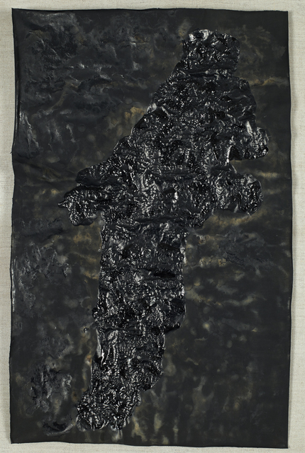, 'Hundred Layers of ink - Magic Wand 03,' 1991, Jeanne Bucher Jaeger