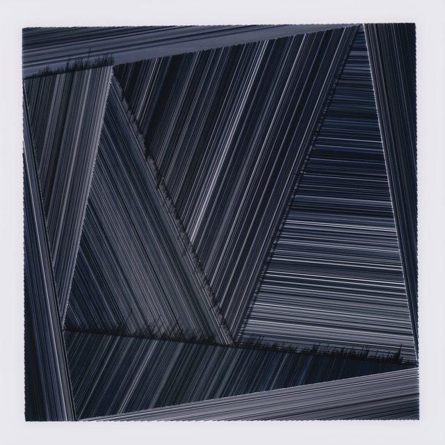 , 'Temps et variations II (bleu) / Time & Variation II (blue),' 2017, ELLEPHANT