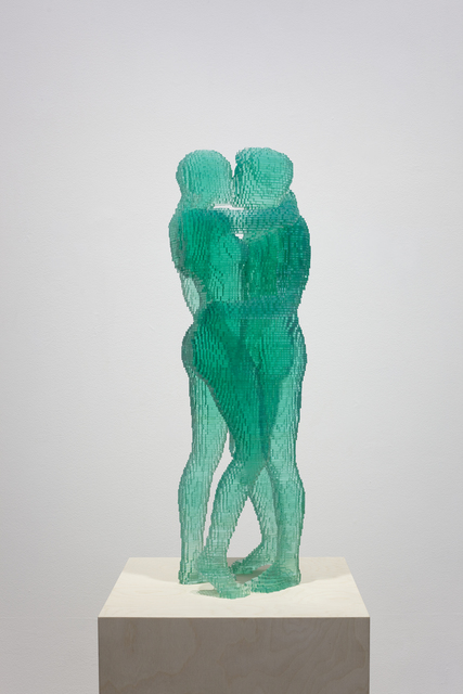, 'Green kiss,' 2016, Bendana | Pinel