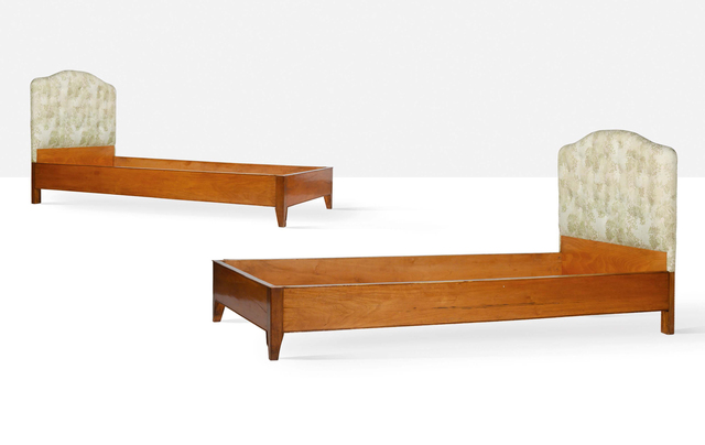 Gio Ponti, 'Two beds', Aguttes