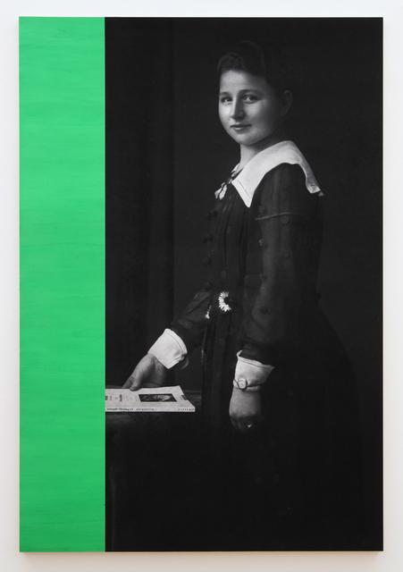 , 'L'Autre de l'Art (Rosalind Krauss), Série Les Liseuses,' 2013, Galerie Christophe Gaillard