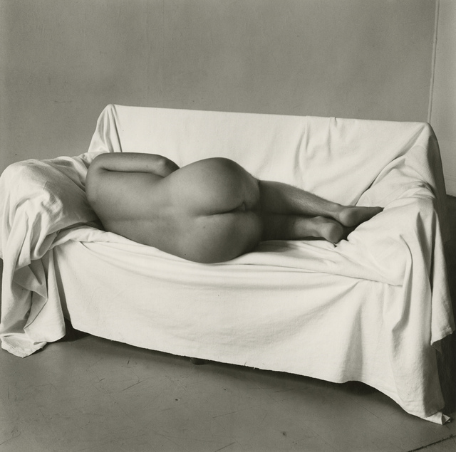 Peter Hujar, 'Reclining Nude on Couch', 1978, Gitterman Gallery