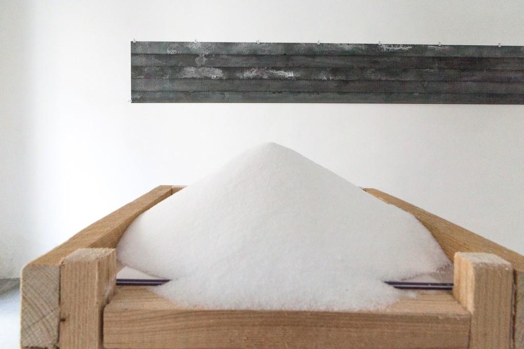 Karel Doing, salt, installation, 2013 | image: ©dasesszimmer
