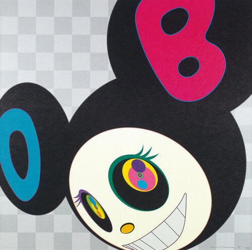 Takashi Murakami, 'AND THEN BLACK DOB', 2005, Dope! Gallery