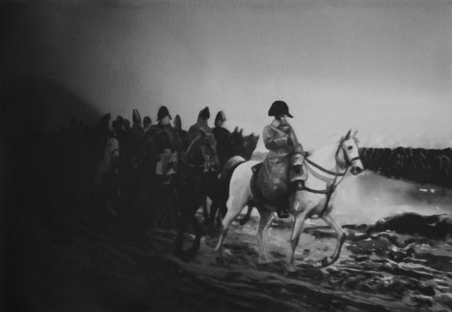 , 'Napoleon Enters Moscow as it Burns on September 14, 1812.,' 2017, Christine König Galerie