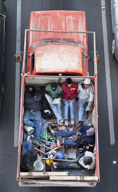Alejandro Cartagena, 'Carpoolers #20', 2012, Patricia Conde Galería