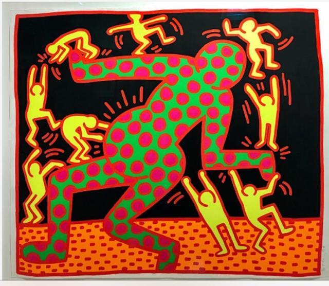 Keith Haring, 'Fertility (3)', 1983, Reuben Colley Fine Art