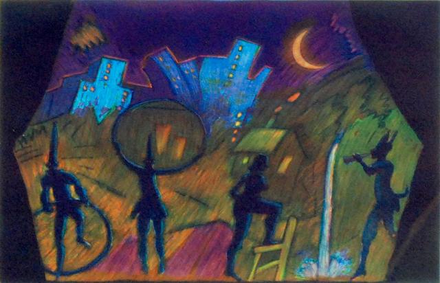 , 'Moonlight Theater,' 1988, Posner Fine Art