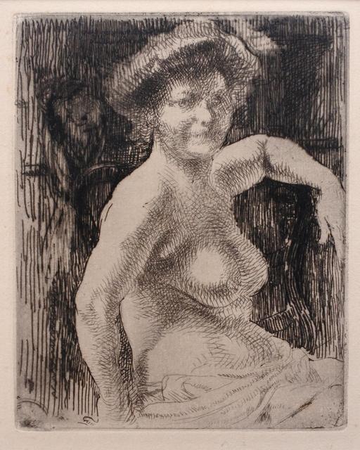 Albert Besnard, 'Femme nue', 1909, Hans den Hollander Prints