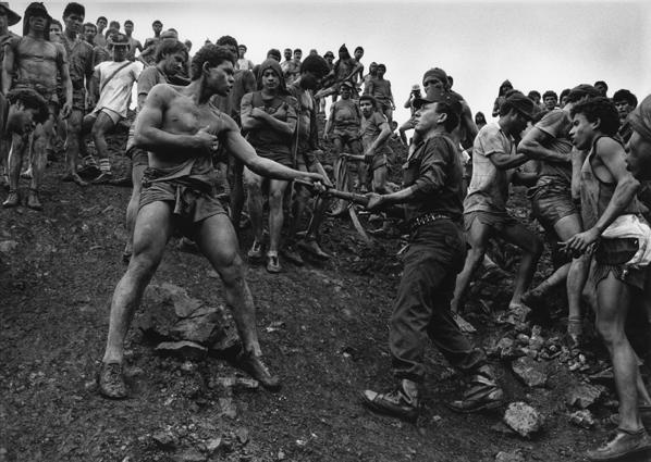 Sebastião Salgado, 'Military Police Patrolling the Gold Mine of Serra Pelada, State of Para, Brazil', 1986, Scott Nichols Gallery