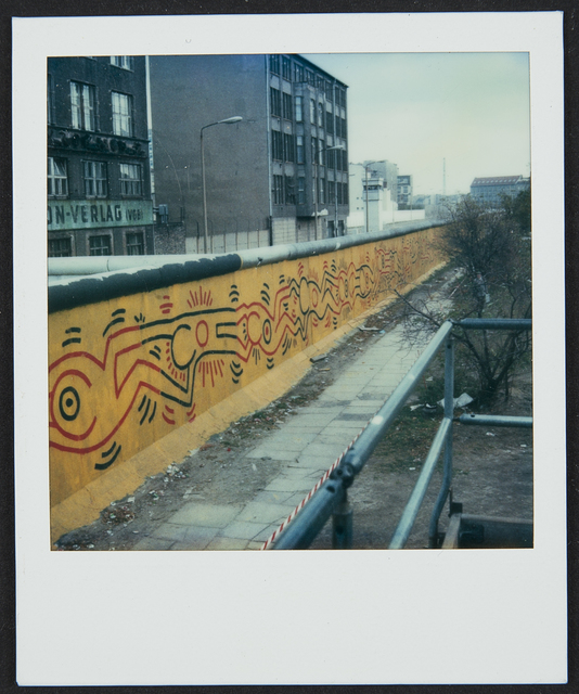 Keith Haring, 'Berlin Wall Mural at Checkpoint Charlie', 1986, Cantor Fitzgerald Gallery, Haverford College