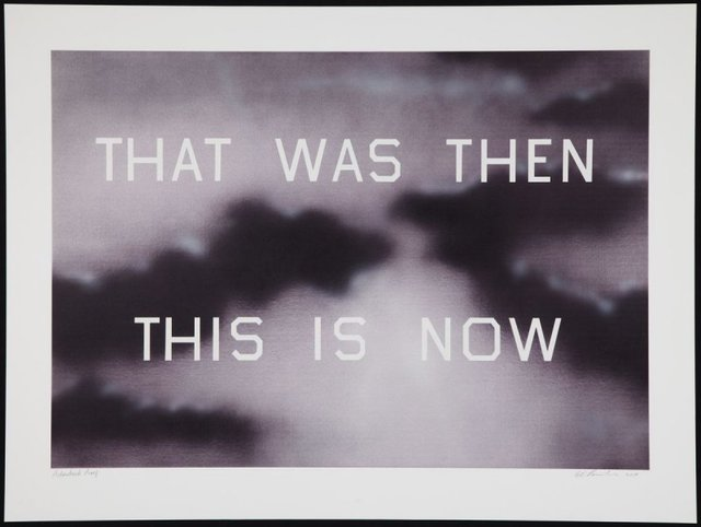 Ed Ruscha, 'That Was Then, This Is Now', 2014, David Benrimon Fine Art