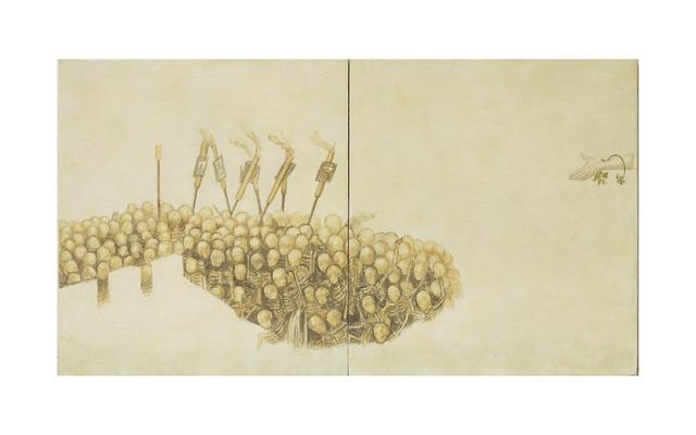 , 'Fragmento VI a partir del trabajo de Pieter Brueghel el Viejo,' 2016, Proyecto Paralelo