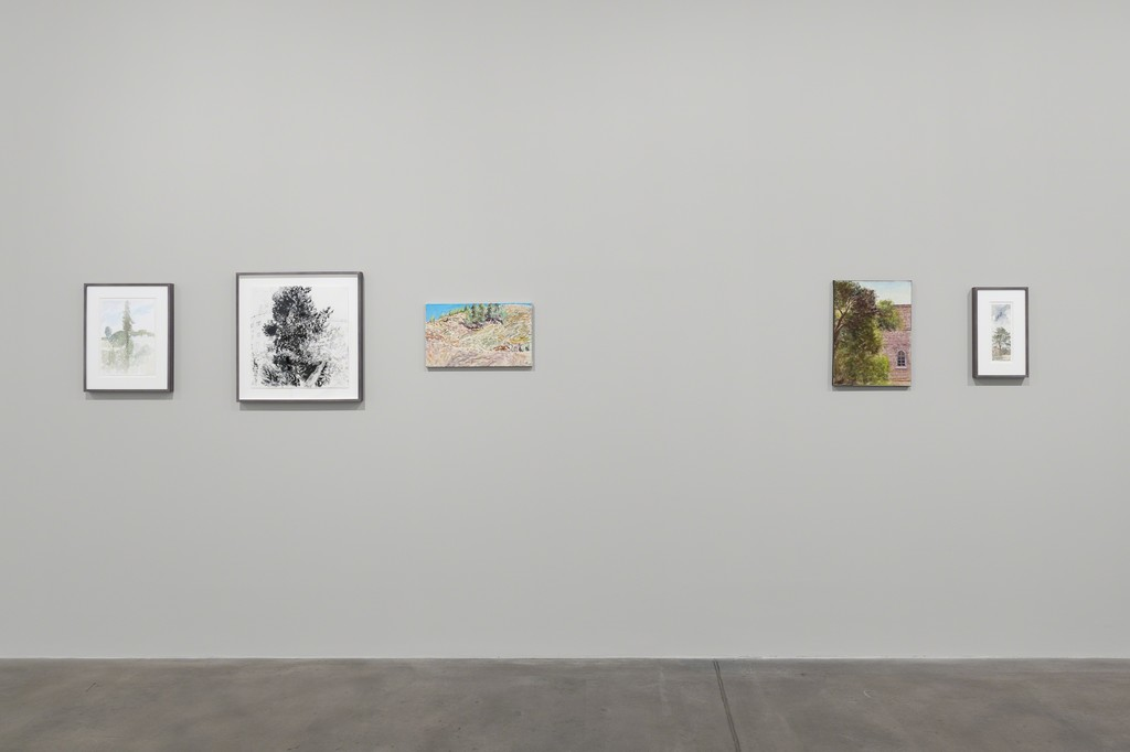 Avigdor Arikha, Landscapes, Installation View, 2018, Courtesy the artist and Blain|Southern, Photo: Trevor Good