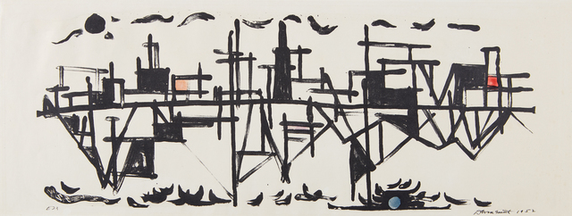 David Smith, 'Fishdocks', 1952, Phillips
