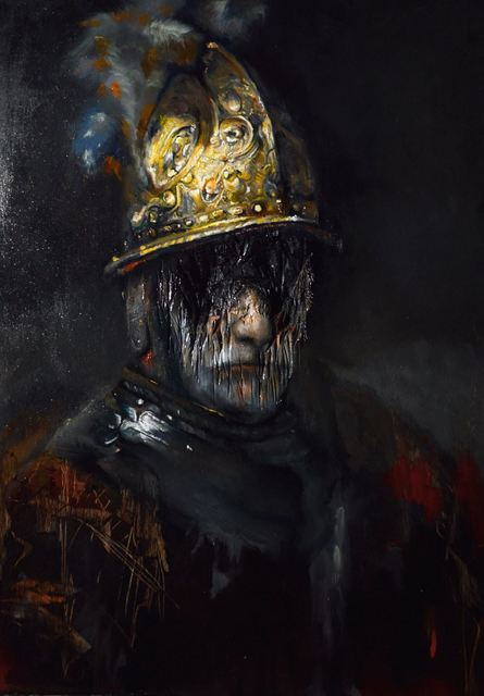 , 'Rembrandt series-The Man with the Golden Helmet,' 2018, Montoro12 Contemporary Art