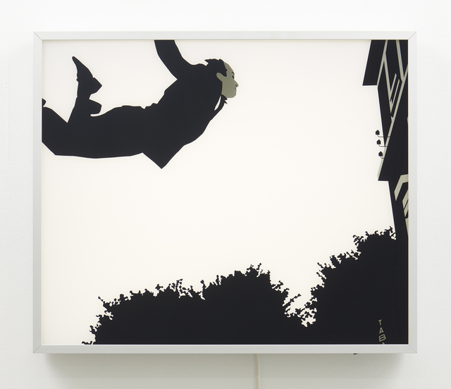 Kota Ezawa, 'Leap into the Void from The History of Photography Remix', 2005, Jessica Silverman Gallery