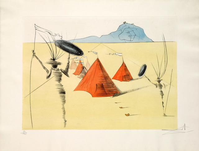Salvador Dalí, 'Gad (Twelve Tribes of Israel)', 1973, Martin Lawrence Galleries